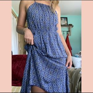 NWOT Boho midi dress